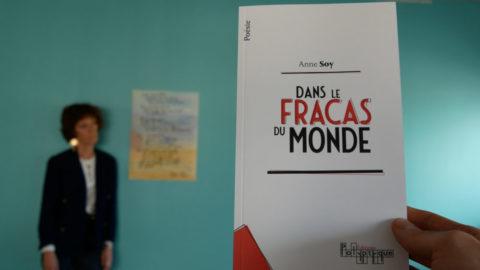 Anne Soy, poète et bénéficiaire de la CMCAS Pays de Savoie
